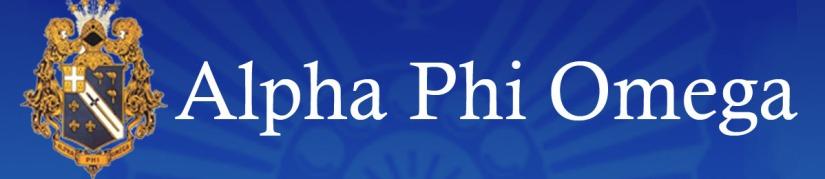 PSA – Alpha PhiOmega